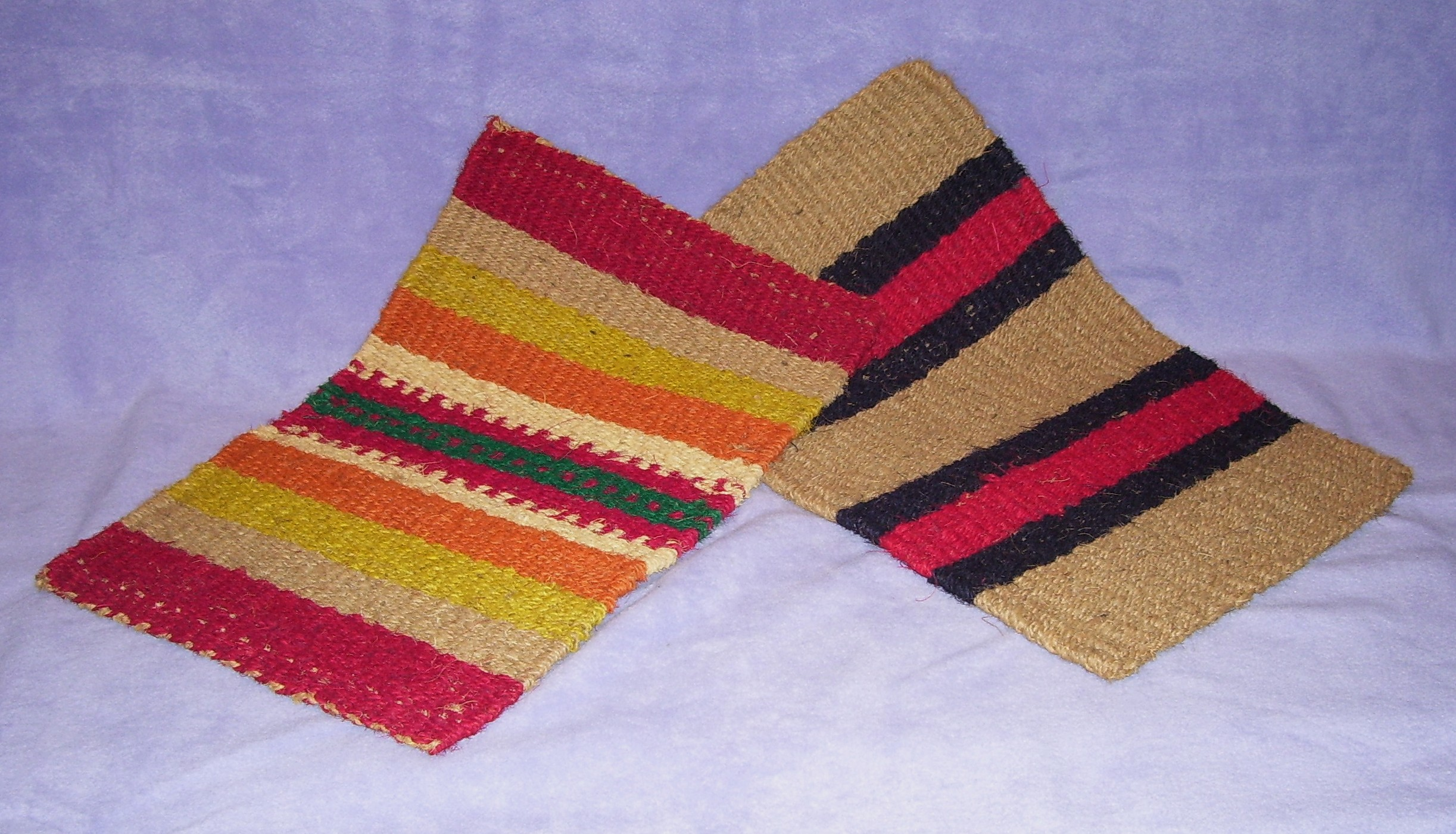 Colorful Coconut Mats