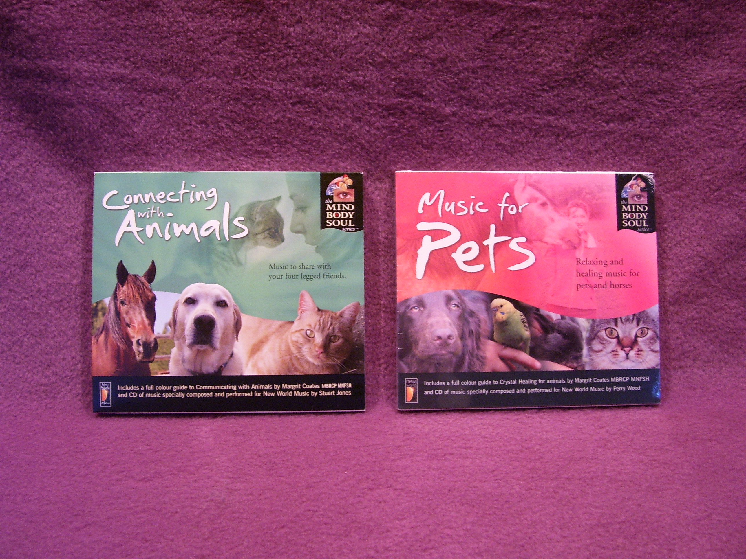 Connecting with the Animals and Music for Pets CDs